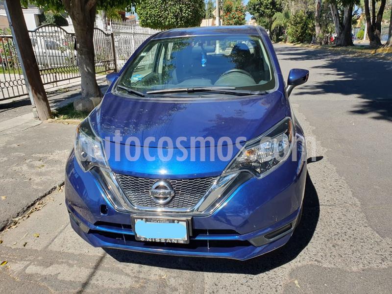 Nissan Note Sense usado (2018) color Azul precio $180,000
