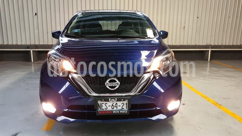 Nissan Note Advance Aut usado (2017) color Azul precio $189,000