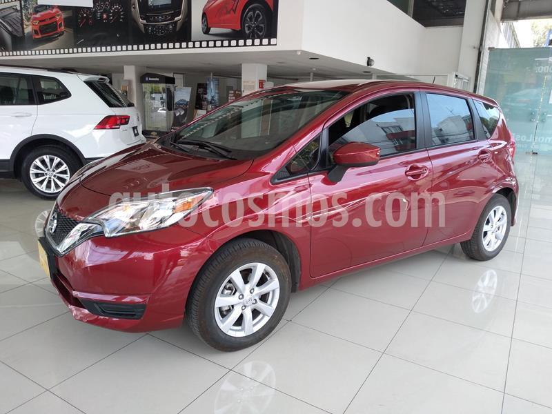 Nissan Note Sense Aut usado (2019) color Rojo precio $210,000