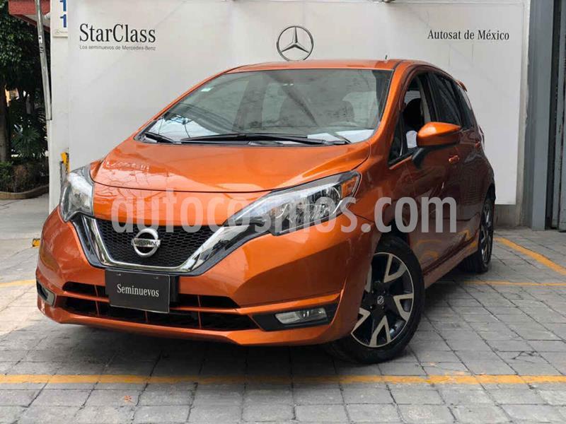 foto Nissan Note SR Aut usado (2017) color Naranja precio $215,000
