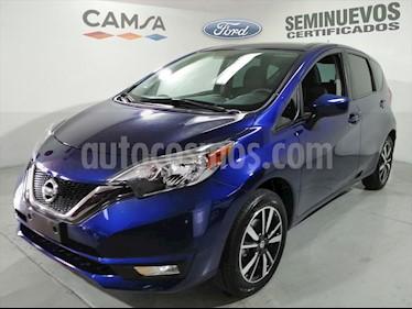 Nissan Note ADVANCE CVT usado (2018) color Azul Electrico precio $204,900