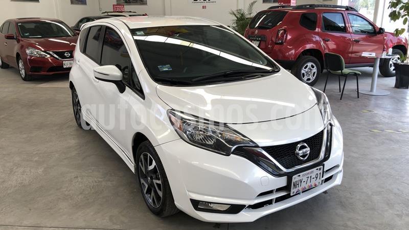 Nissan Note SR Aut usado (2018) color Blanco precio $220,000