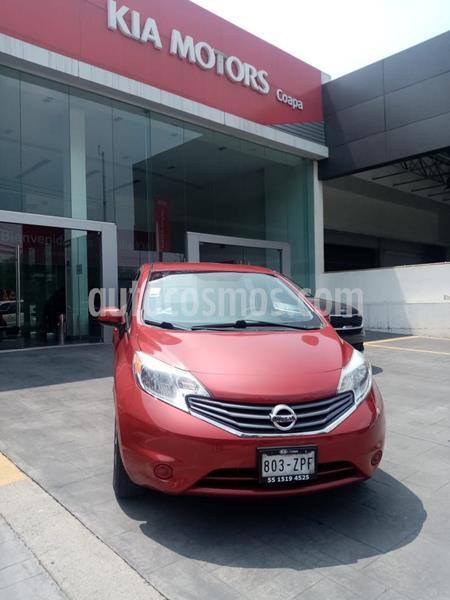Nissan Note Sense usado (2014) color Rojo precio $125,000