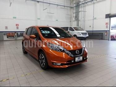 Nissan Note SR Aut usado (2017) color Naranja precio $209,000