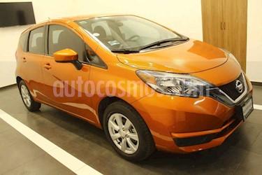 Nissan Note 5p Sense L4/1.6 Aut usado (2017) color Naranja precio $179,000