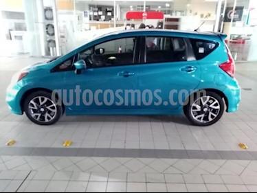 Nissan Note 5P SR CVT A/AC. F. NIEBLA GPS FALDON RA-16 usado (2017) color Azul precio $170,000