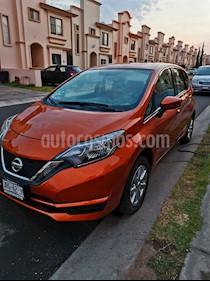 Nissan Note Note Sense usado (2019) color Naranja precio $196,000