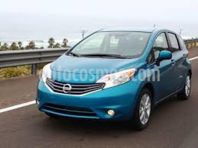 Nissan Note 5P ADVANCE CVT A/AC. F. NIEBLA GPS RA-16 usado (2017) color Azul precio $145,500