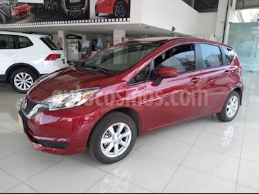 Nissan Note 5P SENSE TM5 A/AC. CAMARA REVERSA RA-15 usado (2019) color Rojo precio $210,000