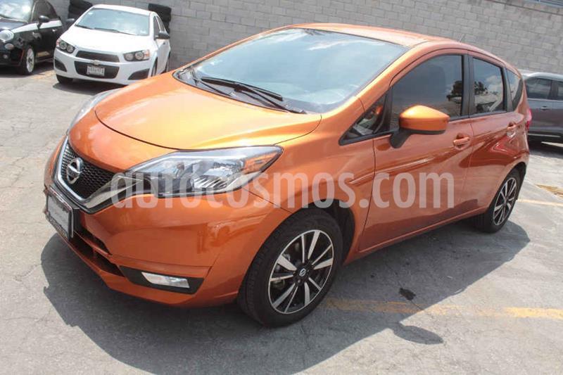 Nissan Note Advance Aut usado (2018) color Naranja precio $209,000