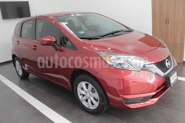 Nissan Note Sense Aut usado (2018) color Rojo precio $189,000
