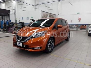 Nissan Note 5P SR CVT A/AC. F. NIEBLA GPS FALDON RA-16 usado (2017) color Naranja precio $220,000