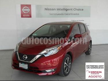 Nissan Note 5P ADVANCE L4/1.6 AUT usado (2019) color Rojo precio $239,000