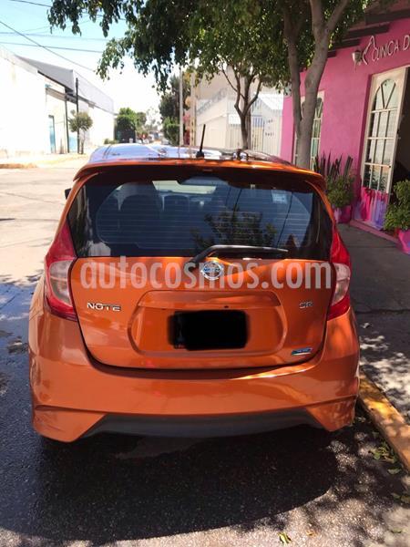 Nissan Note SR Aut usado (2017) color Naranja precio $205,000