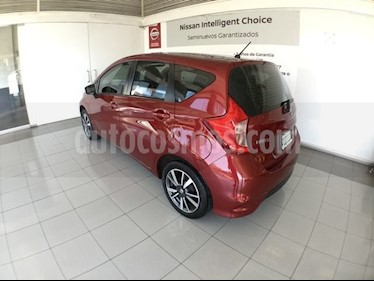 Foto venta Auto usado Nissan Note NOTE ADVANCE CVT (2017) color Rojo precio $210,000