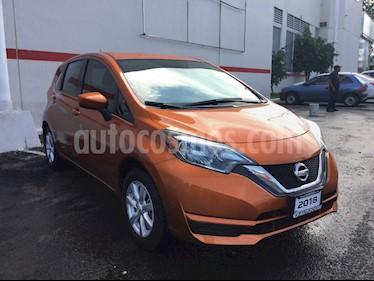Foto venta Auto usado Nissan Note NOTE SENSE TM (2018) color Naranja precio $195,000