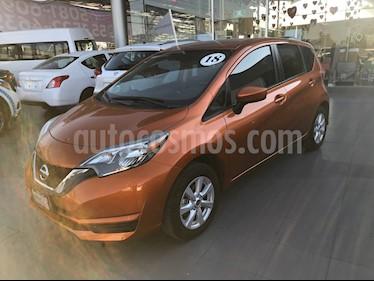 Foto venta Auto usado Nissan Note Sense (2018) color Naranja precio $195,000