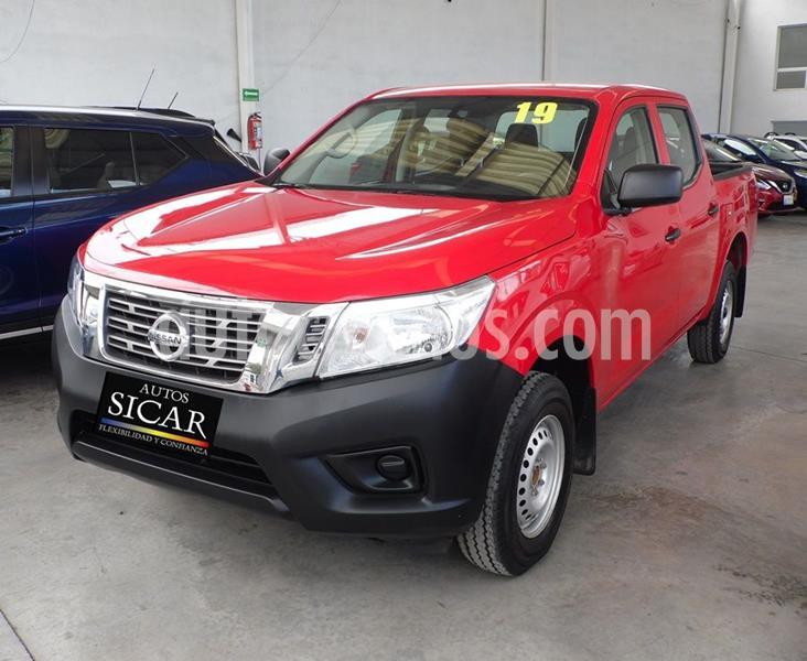 Nissan NP300 Doble Cabina SE A/A Paq. de Seg. usado (2019) color Rojo precio $279,000