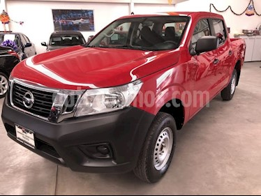 Nissan NP300 Doble Cabina SE A/A Paq. de Seg. usado (2017) color Rojo precio $275,000