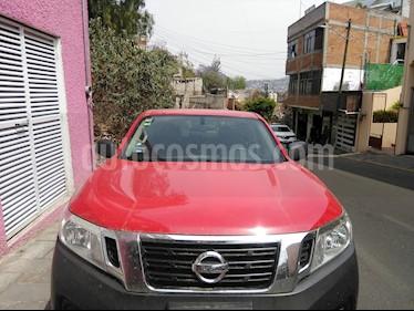 Nissan NP300 Doble Cabina SE A/A Paq. de Seg. usado (2017) color Rojo precio $290,000