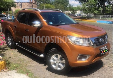Nissan NP300 Frontier LE A/A usado (2016) color Naranja precio $295,000