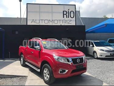 Nissan NP300 Frontier LE A/A usado (2018) color Rojo precio $319,000