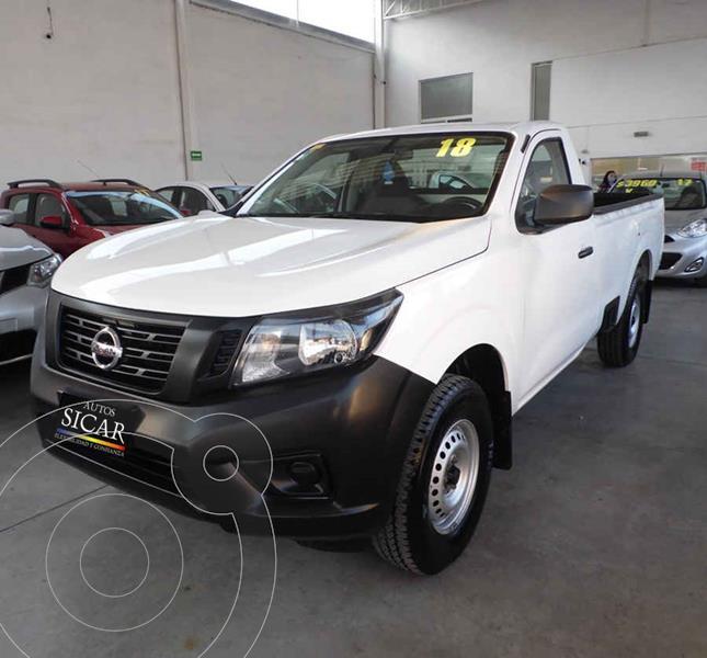 Nissan NP300 Frontier LE A/A usado (2018) color Blanco precio $235,000