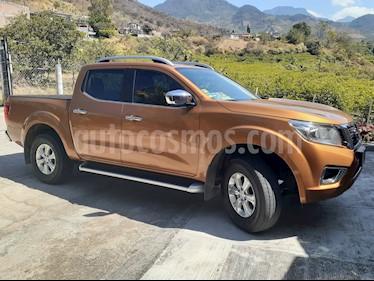 Nissan NP300 Frontier LE A/A usado (2017) color Naranja precio $310,000