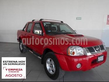 Nissan NP300 Frontier LE A/A usado (2015) color Rojo precio $259,000