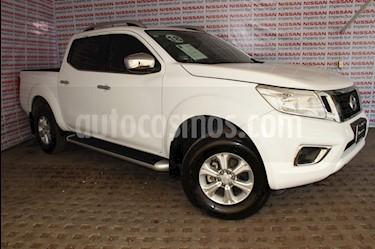 Nissan NP300 Frontier LE A/A usado (2018) color Blanco precio $310,000