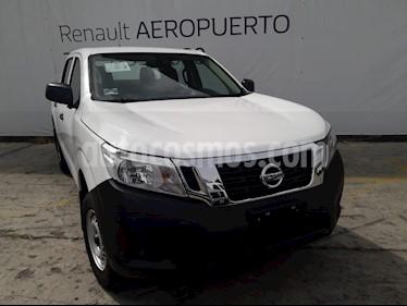 Nissan NP300 Frontier LE A/A usado (2018) color Blanco precio $350,000