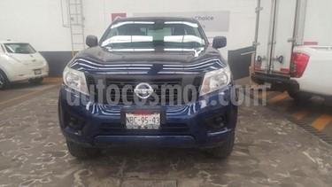 Nissan NP300 Frontier 2.5L CHASIS CABINA DIESEL DH A/A PAQ. DE SEGURIDA usado (2017) color Azul precio $309,900