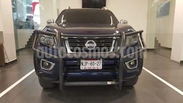 Nissan NP300 Frontier 4P LE DIESEL L4/2.5/T 4X4 AUT usado (2020) color Azul Marino precio $565,500