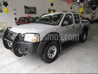 Foto venta Auto usado Nissan NP300 2.4L Doble Cabina 4X4 (2015) color Gris precio $200,000