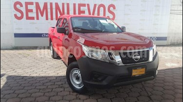 Foto venta Auto usado Nissan NP300 2.4L Doble Cabina 4x4  (2018) color Rojo precio $305,000