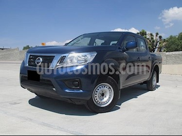 Foto venta Auto usado Nissan NP300 2.4L Doble Cabina SE A/A Paquete de Seguridad (2018) color Azul precio $313,000