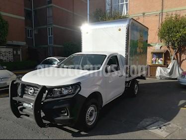 Foto venta Auto usado Nissan NP300 2.5L Chasis Cabina Dh A/A (2018) color Blanco precio $310,000