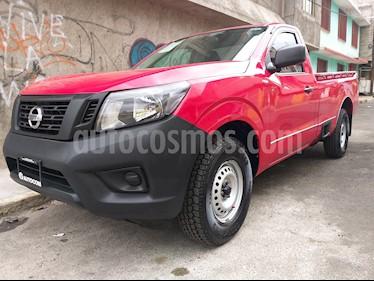 Foto venta Auto usado Nissan NP300 2.5L Pick-up Dh A/A Paquete de Seguridad (2017) color Rojo precio $206,000