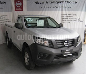 Foto venta Auto usado Nissan NP300 2.5L Pick-up Dh A/A Paquete de Seguridad (2019) color Plata precio $275,000