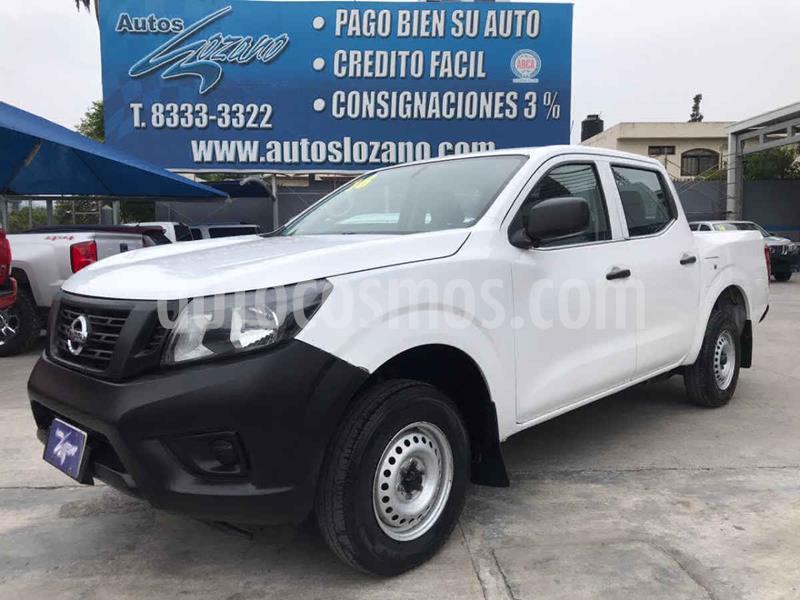 Nissan NP300 2.5L Pick-up Dh  usado (2018) color Blanco precio $244,900