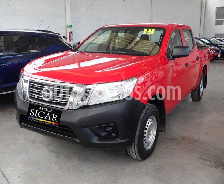 Nissan NP300 2.4L Doble Cabina SE A/A Paquete de Seguridad usado (2019) color Rojo precio $279,000