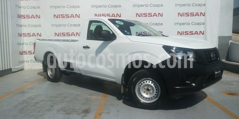 Nissan NP300 2.5L Pick-up Dh A/A usado (2018) color Blanco precio $245,000