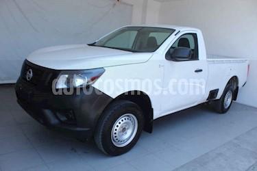 Nissan NP300 2 pts. Chasis Cabina TM DH AC PAQ. SEG. 6 Vel usado (2018) color Blanco precio $259,000