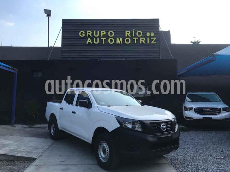 Nissan NP300 SE A/A Paq. de Seg. usado (2018) color Blanco precio $269,000