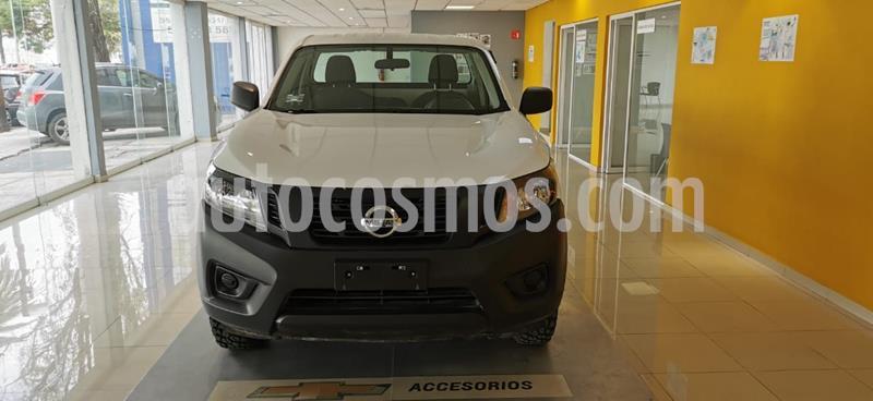 Nissan NP300 2.5L Pick-up Dh A/A usado (2019) color Blanco precio $298,000