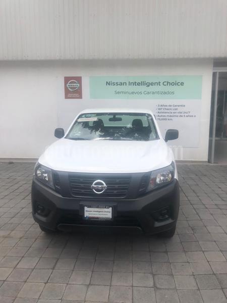 Nissan NP300 2.5L Pick-up Dh A/A usado (2020) color Blanco precio $284,000