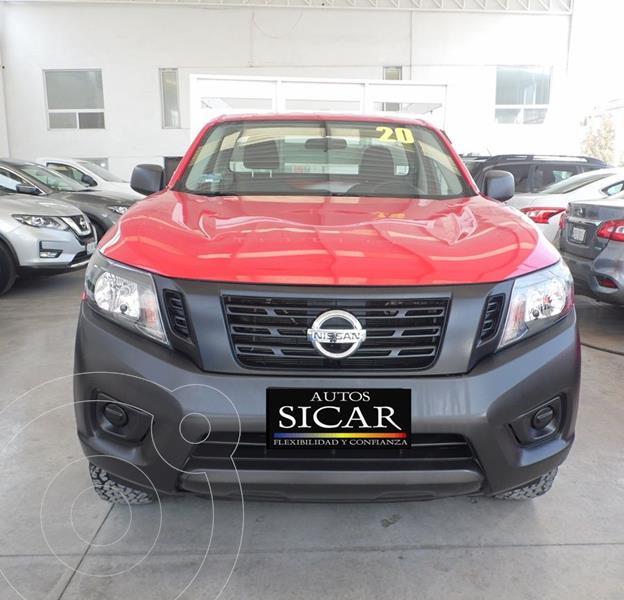 Nissan NP300 2.5L Estacas Dh A/A usado (2020) color Rojo precio $289,000