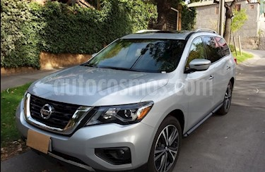 Nissan Pathfinder 3.5L Advance 4x4 usado (2018) color Plata precio $20.350.000