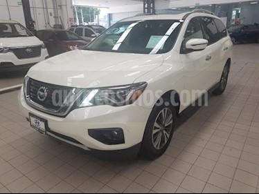 Foto venta Auto usado Nissan Pathfinder 5p Advance V6/3.5 Aut (2018) color Blanco precio $575,000
