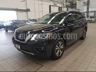 Foto Nissan Pathfinder 5p Advance V6/3.5 Aut usado (2018) color Negro precio $465,000